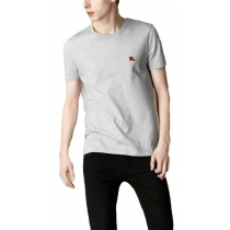 Burberry Men's Crew Neck T- Shirt  Gray