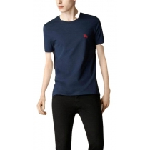 Burberry Men's Crew Neck T- Shirt  Navy