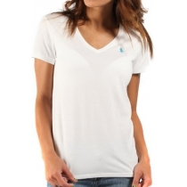 Polo Ralph Lauren Women's V Neck T Shirts White